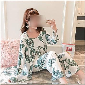 Pijama de pijama de algodón para mujer, 3 piezas, conjunto de ...