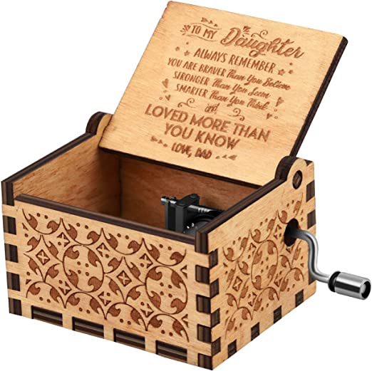 Amazon.com: You are My Sunshine - Caja de música de madera ...