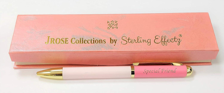 Sterling Effectz - Bolígrafo personalizable para mujer en caja de regalo