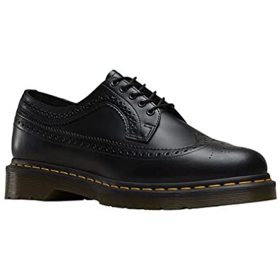 0c1a8871472b99 Dr. Martens Women's 3989 Smooth Fashion Oxfords, Black, Leather, 3 M UK
