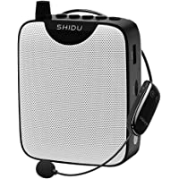 Portable Voice Amplifier PA system with UHF Headset Microphone, Loud Speaker Support Recording Funtion and U Disk/TF…