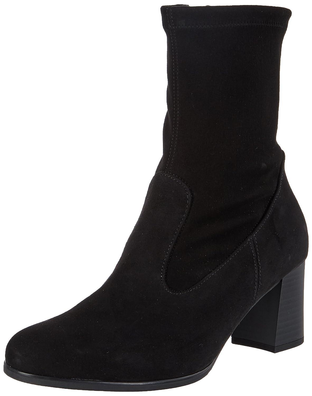 Schwarz(17 Schwarz(Textile)) Gabor Damen Basic Stiefel