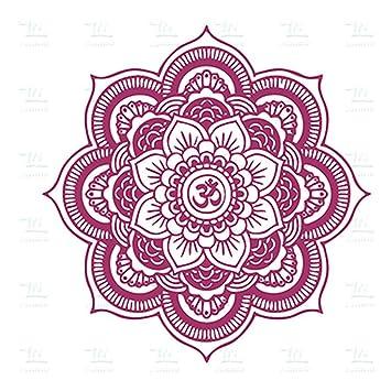 Respetuoso del medio ambiente Gran Mandala vinilo tatuajes de ...