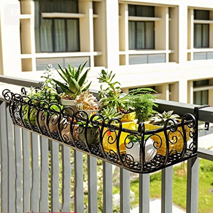 Amazon.com: Barandilla de hierro forjado europeo flor ...