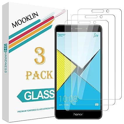 MOOKLIN [3 Piezas] Huawei Honor 6X Protector de Pantalla, [Anti ...