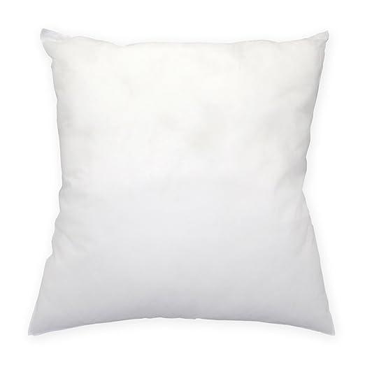 relleno para cojines poliéster, tirar cojín del sofá cojines para un cocktail, blanco, alrededor de 30 x 30 cm