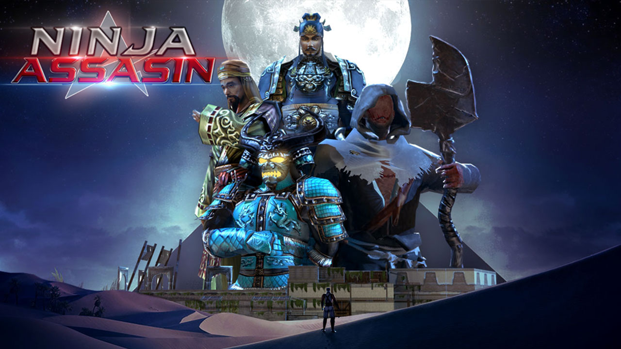 Amazon.com: Shadow Ninja Assassin Games: Samurai Stealth ...