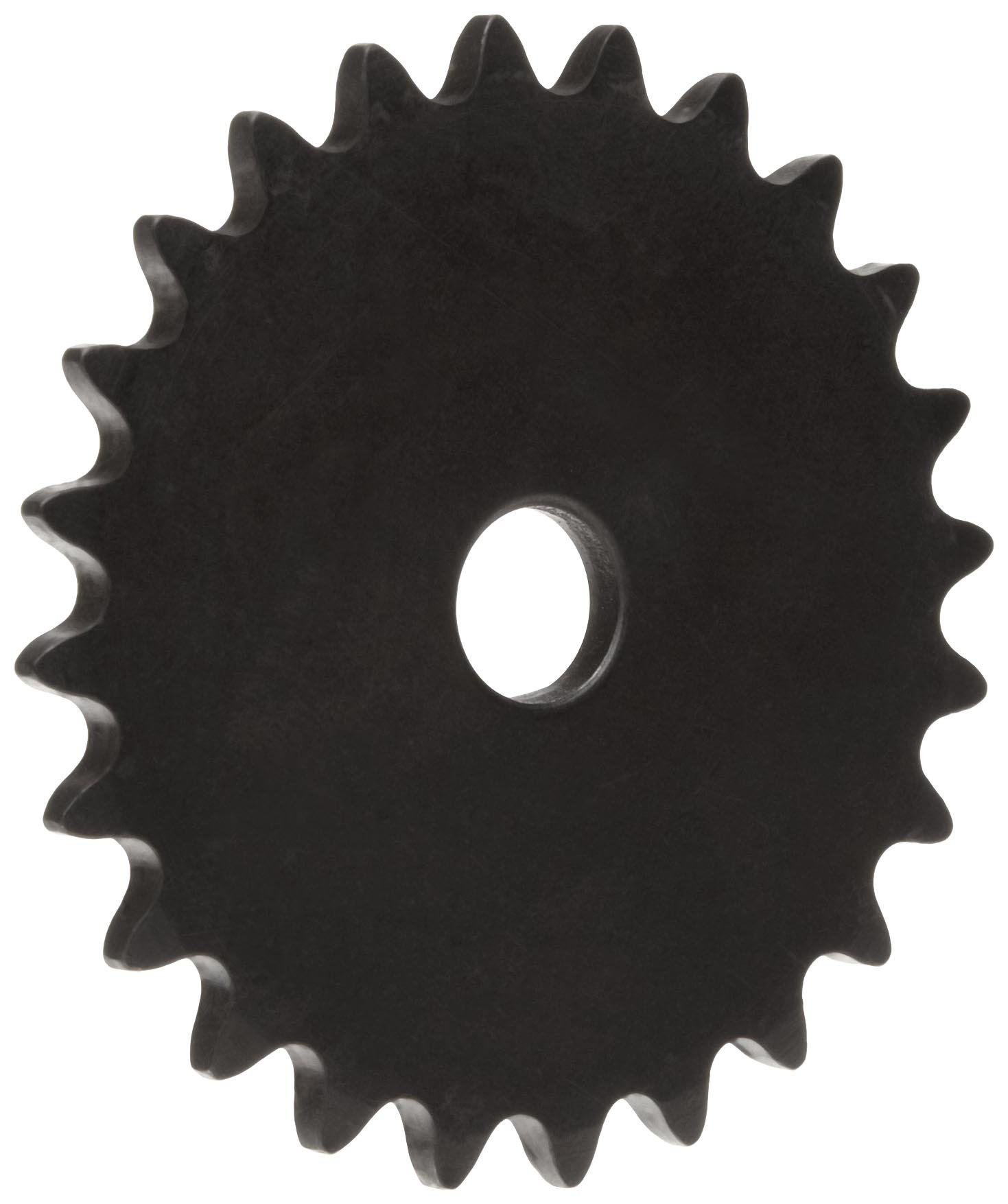 Martin Roller Chain Sprocket, Reboreable, Type A Hub, Single Strand, 35 Chain Size, 0.375'' Pitch, 28 Teeth, 0.5'' Bore Dia., 3.55'' OD, 0.168'' Width