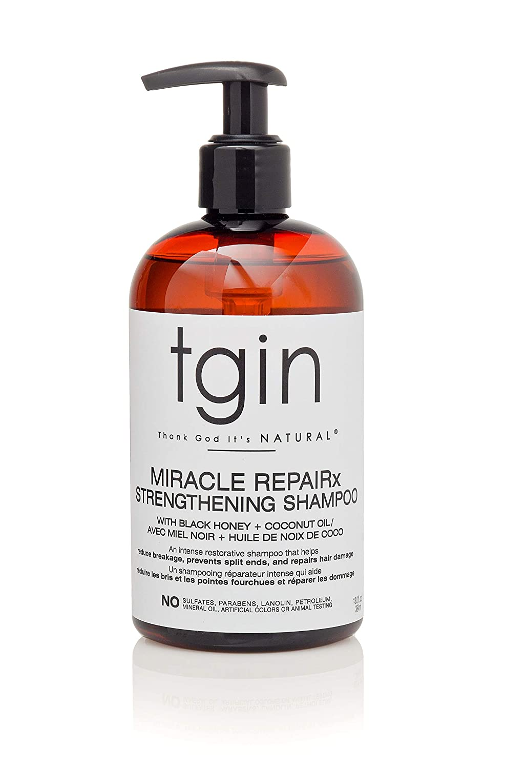 tgin Miracle RepaiRx Strengthening Shampoo For Natural Hair - Dry Hair - Curly Hair - 13 Oz
