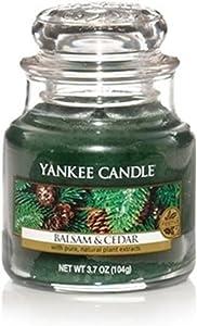 Yankee Candle Balsam & Cedar Small Jar Candle