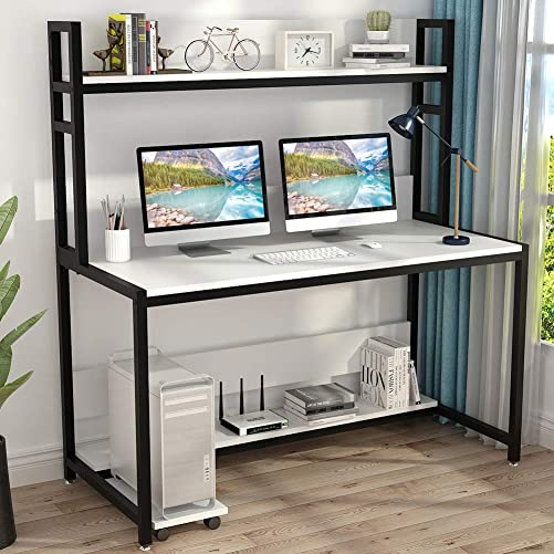 Best modern office desk: Tribesigns 55 Inches Large Computer Desk