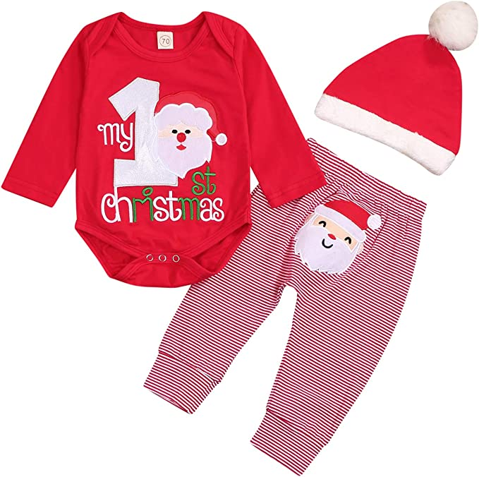 CH Unisex Newborn Baby Girls Boys Knitted Toddler Bodysuit Outfits Romper UK