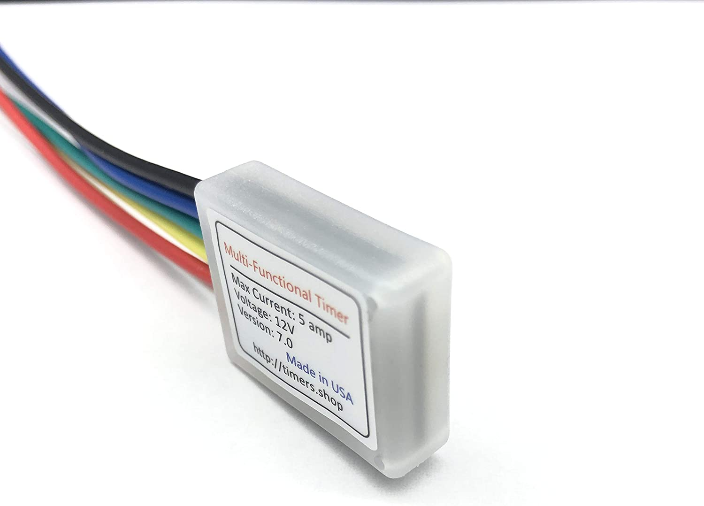 Micro USB Power Delay relay Timer control module Trigger delay switch 5V 30V