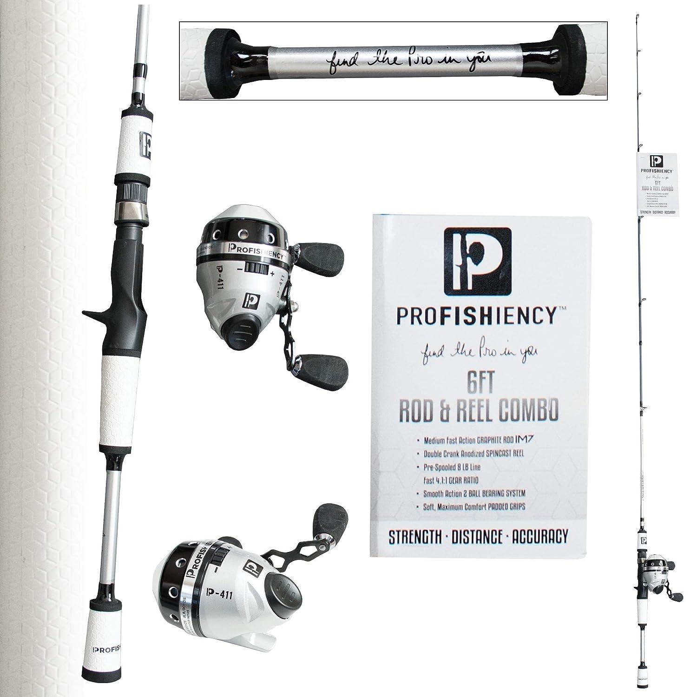 ProFISHiency ProFISHiency 釣り竿/ポールコンボ 6フィート 6フィート スピンキャストコンボ B07HJ9BF85 B07HJ9BF85, ナカイ製菓:c997b7fd --- ferraridentalclinic.com.lb