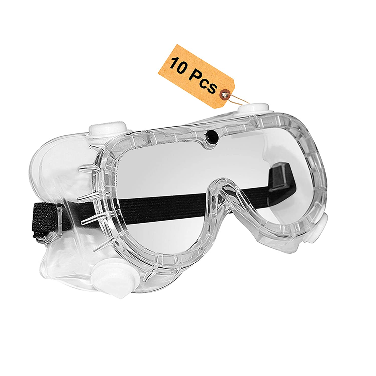Safety Work Goggles Eye Protection Lab Builder Glasses Anti-Scratch//Dust Eyewear