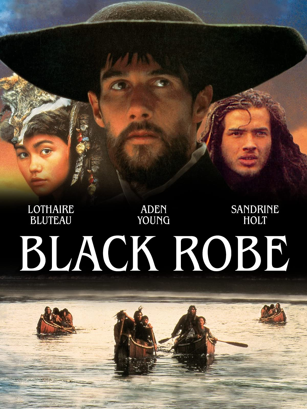 Black robe on Amazon Prime Video UK