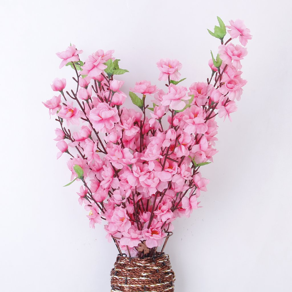 Amazon.com: Artificial Spring Blossom Cherry Plum Bouquet Branch ...