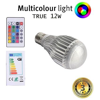 Led light bulbs color changing light bulb colorful magic rgb bulb 10w for christmas lights