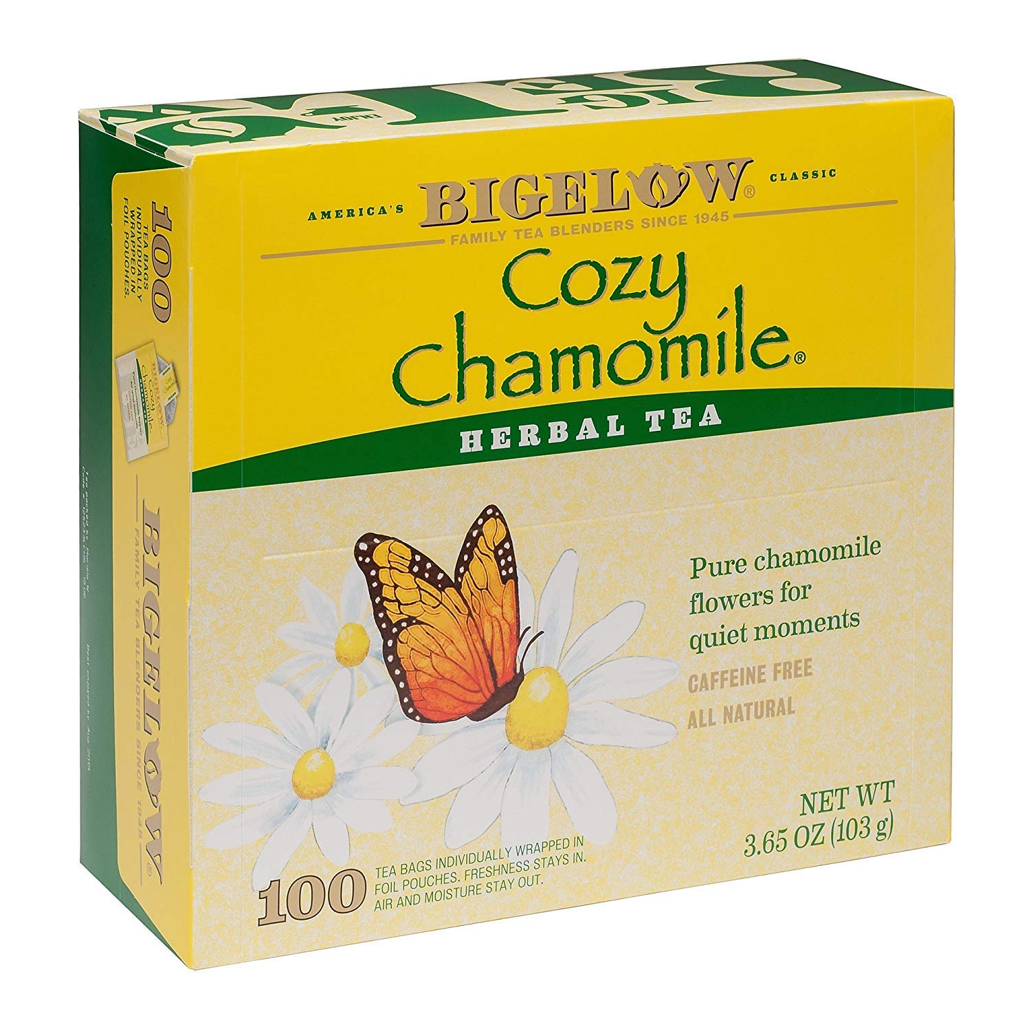 Bigelow Cozy Chamomile Tea, 100 ct. sleeping pills or otc sleep aids - 71J7HTbzo5L - Sleeping pills or OTC sleep aids – risks and side effects