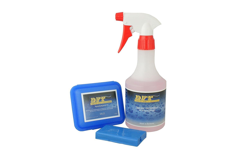 DFT-Reinigungsknete mild blau 100 g inkl Spezial Gleitmittel 500 ml