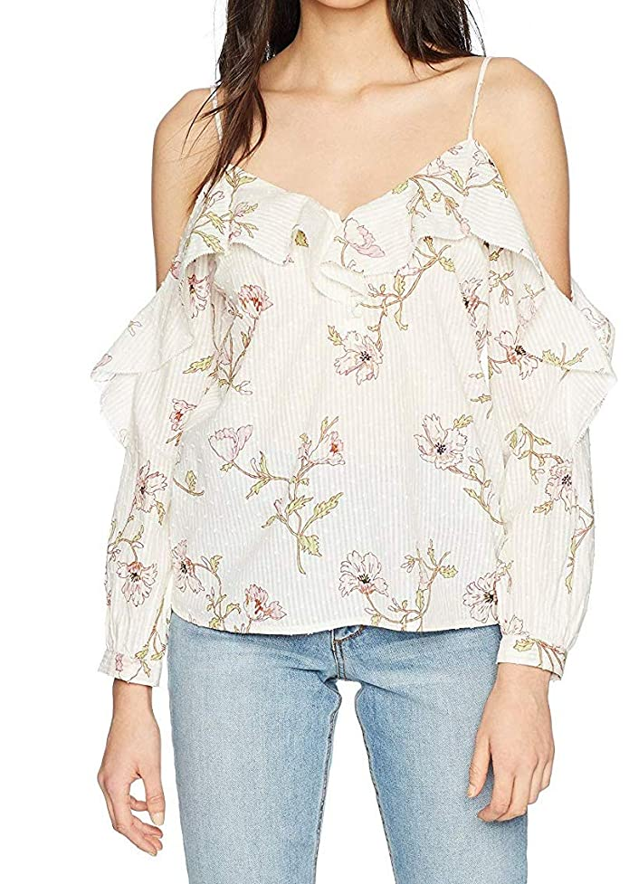 Womens Blouse Small Arabeth Cold Shoulder S
