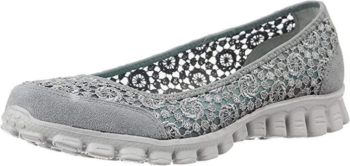 Skechers EZ Flex 2 Flighty Sneakers Damen Grau