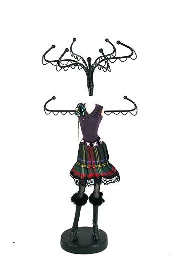 Amazoncom Mannequin Jewelry Stand Organizer Sassy Chic Kitchen
