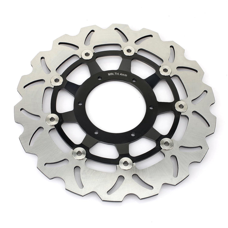 TARAZON Full Set Front Rear Brake Disc Rotors Brake Pads for Honda cbr600rr CBR600RR 2007-2016