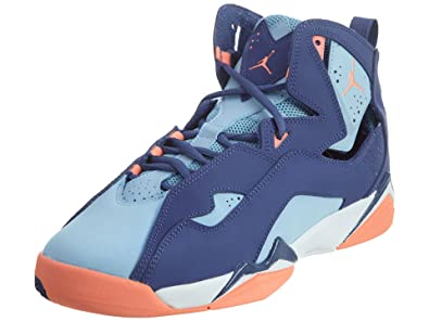 13674443137d75 Nike Girl s Jordan True Flight(GS) Dark Purple Dust Atomic Pink-Bluecap
