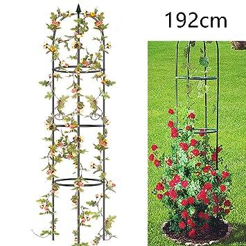 Sehr Qulista Garten Rankhilfe Kletterrosen Kletterpflanzen Hoch Metall XQ37