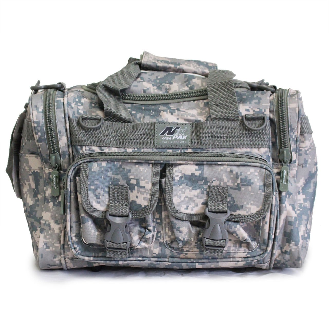 メンズ 18インチ ダッフル モール タクティカル ギア 肩掛け 旅行バッグ キーリングカラビナ付き B01LWIU9TA 22