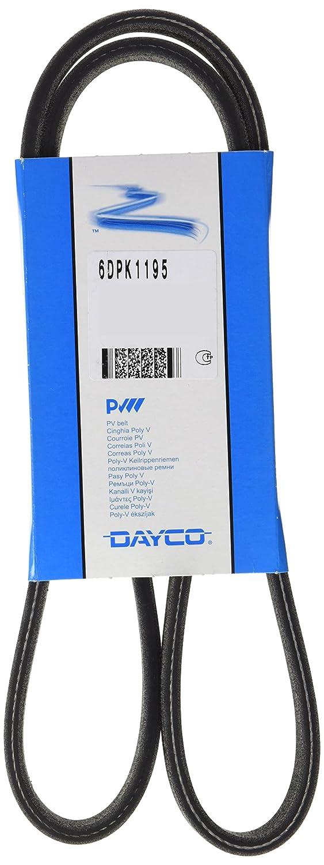 Dayco 6DPK1195 Correa trapecial Poli V