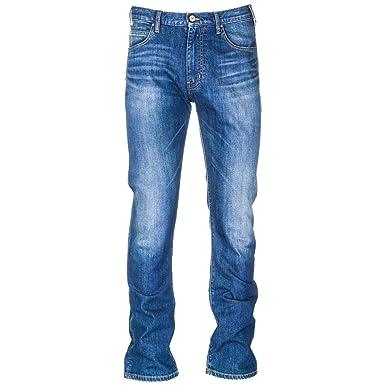 ffea9412f0729 Emporio Armani Jean Homme blu 32 W  Amazon.fr  Vêtements et accessoires