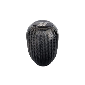 Mishimoto mmsk-cf de fibra de carbono pomo de la palanca