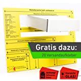 Itenga Feste Formatschablone Briefschablone Deutsche Post Brief