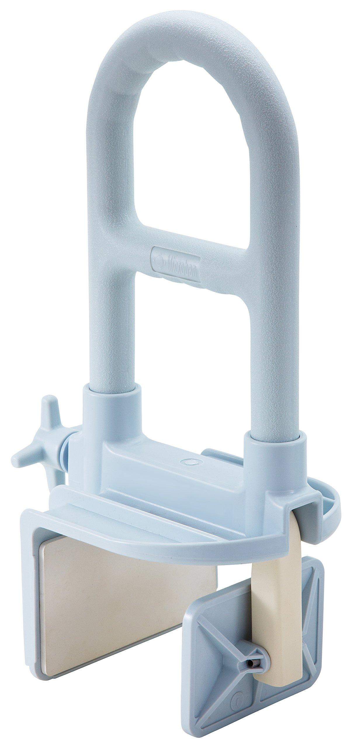 Amazon.com: Medline Bathtub Safety Grab Bar, Shower Rail, Microban ...