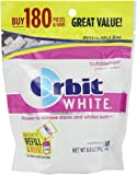 Orbit Chewing Gum White Bubblemint, 180-Count 8.8oz