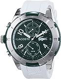 Lacoste - 2010758 - Montre Homme - Quartz Analogique - Bracelet Silicone Blanc