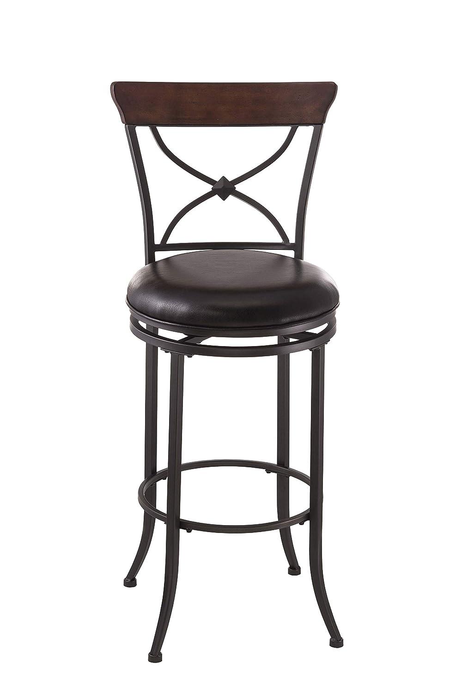 Miraculous Amazon Com Hillsdale Furniture Cameron Swivel X Back Bar Beatyapartments Chair Design Images Beatyapartmentscom