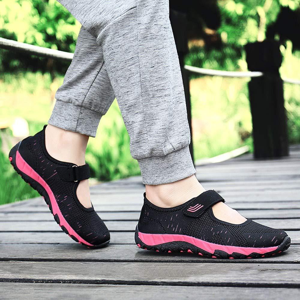 ZODOF Zapatos Casuales Mocasines Zapatos Planos Moda Calzan Zapatos Ocasionales De Los Zapatos Al Aire Libre Que Caminan Los Cordones para Arriba para ...