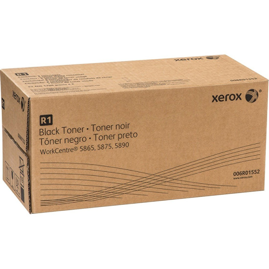 Toner Original XEROX 006R01552 (Black,2-Pack)