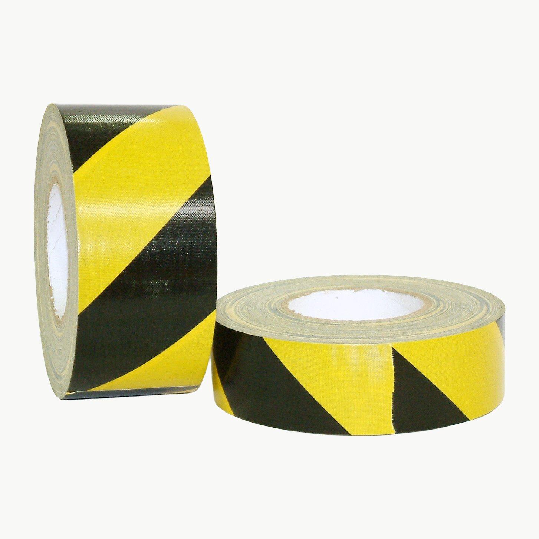 J.V. Converting HZ-DT1/BLKYS260 JVCC HZ-DT1 Hazard Duct Tape: 2'' x 60 yd, Yellow/black