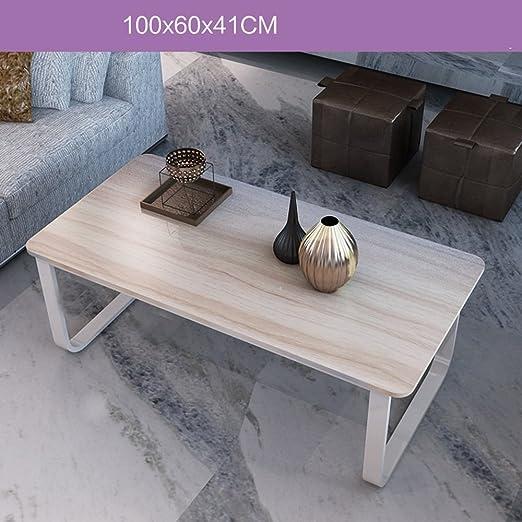 ZZHF Mesa de café Minimalista Moderna Mesa de Centro Mini Mesa ...