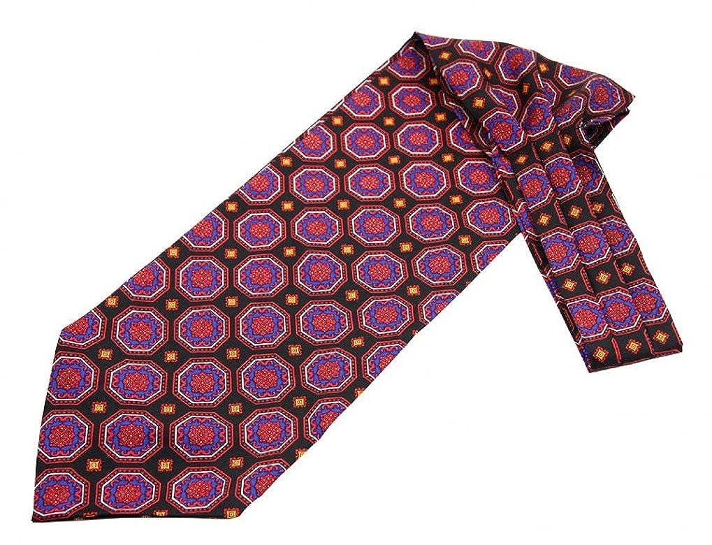 Bevorzugt Prettystern - Herren Seide Krawattenschal + Einstecktuch Ascot Set II57