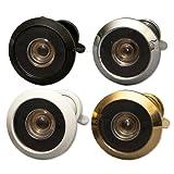 Sicherheit Türspion (AKA Türspion TürspionNEUE VERSION oder) für Türen 20-35mm oder 35-55mm dick er verfügt über einen 160° Sichtwinkel und benötigt ein 12 mm Loch, Silber