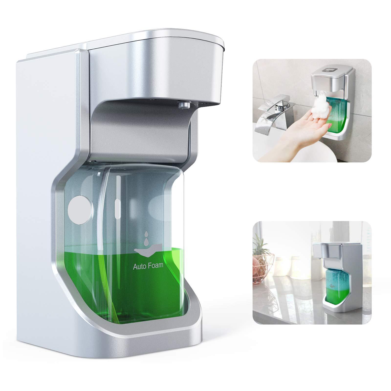 Automatic Soap Dispenser Foam Soap Dispense Touchless Bath Kitchen Countertop Soap Dispenser