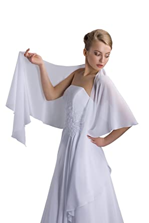 Schal hochzeitskleid