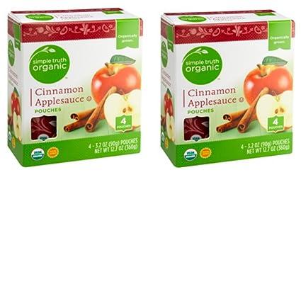 Simple Truth - Bolsas orgánicas para manzana de canela, 4 ct ...