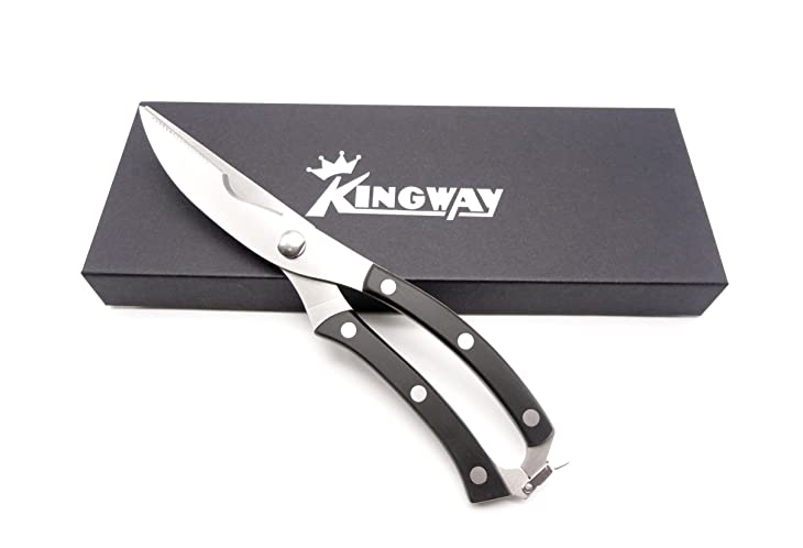 Kingway Best Large Heavy Duty Poultry Shears Chef