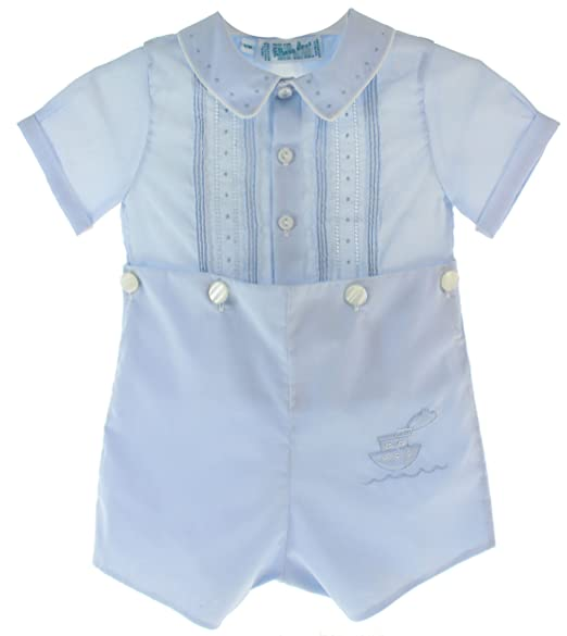 Amazon.com: Feltman Brothers bebé niños azul Bobbie traje ...